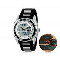 WEIDE 2316 30 м Водонепроницаемые светодиодные спортивные часы (белые)