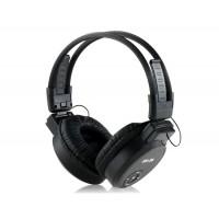 Купить Складные наушники MP3-плеер с FM радио и  TF картой (черные) SH-S6