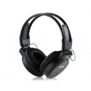 Складные наушники MP3-плеер с FM радио и  TF картой (черные) SH-S6