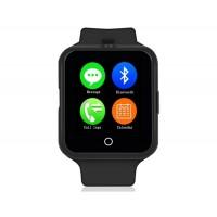 NO.1 D3 Смарт часы с функцией спорт-браслета и поддержкой SIM-карты (черный)