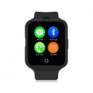 NO.1 D3 Смарт часы с функцией спорт-браслета и поддержкой СИМ-карты (черный)