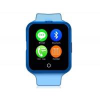 NO.1 D3 Смарт часы с функцией спорт-браслета и поддержкой СИМ-карты (синий)