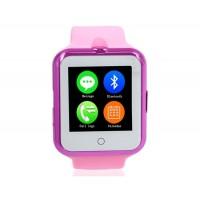 NO.1 D3 Смарт часы с функцией спорт-браслета и поддержкой СИМ-карты (розовы)