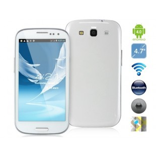 "4.7 ""Android 4.0.3 Dual Core MTK6577 1ГГц 3G смартфон Android  с Wi-Fi"