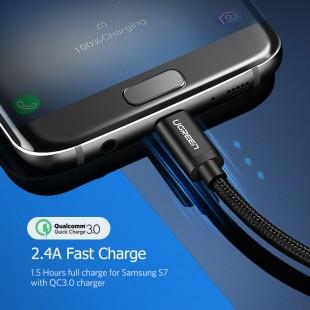 Кабель Micro Usb 2.1A Быстрая Зарядка USB Зарядное Устройство Данных Кабель 1 M 2 M 3 M Мобильный Телефон Кабель для Samsung Xiaomi LG Android телефон