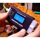 Тестер для ремонта и диагностики блоков питания  компьютера.