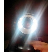 Купить Недорогая веб камера с микрофоном и подсветкой