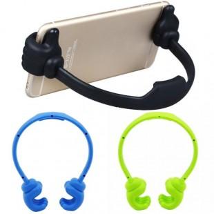 Универсальный держатель для телефона и планшета в виде рук