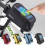 ROSWHEEL велосипедная сумка с держателем телефона