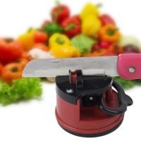 Точилка для ножей и ножниц на присоске
