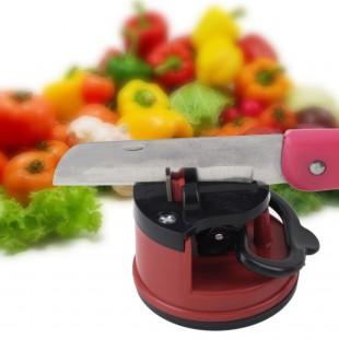 Универсальная точилка на присоске для ножей, ножниц