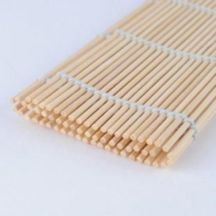 Бамбуковый коврик для заворачивания суши 24х24 см