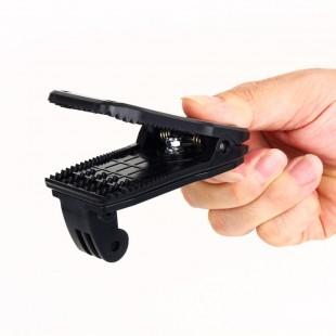 Поворотное на 360 градусов Крепление типа крокодил для GoPro Hero 2/3/3 +