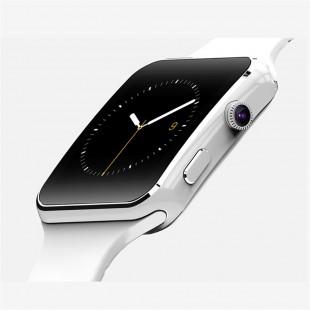 Смарт часы X6 с Bluetooth и слотом для SIM совместимы с Android