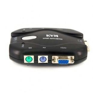 KVM свитчер 2-х портовый