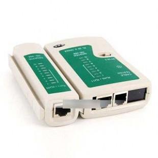 Тестер витой пары и телефонной линии для RJ45 RJ11 -  NS-468
