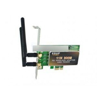 WI FI Беспроводная PCI-E 300М LAN карта с антенной