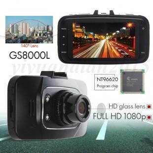 FULL HD Видеорегистратор с G-сенсором (датчиком удара)  GS8000