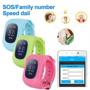 Детские часы с GSM трекером Q50 , блютуз, микрофон, шагомер