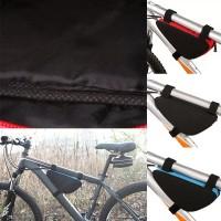 Велосипедная сумка треугольная