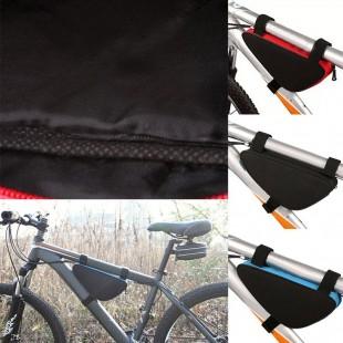 Велосипедная треугольная сумка для крепления на раму