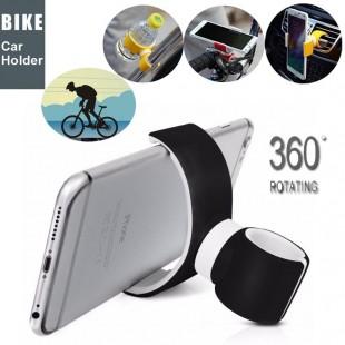 Универсальный автомобильный  велосипедный держатель для мобильного телефона