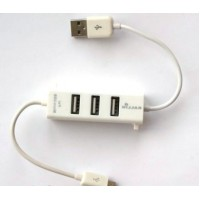 Купить USB хаб с micro USB кабелем