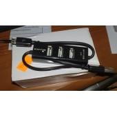 Обзор USB хаба c 3 портами и micro USB кабелем