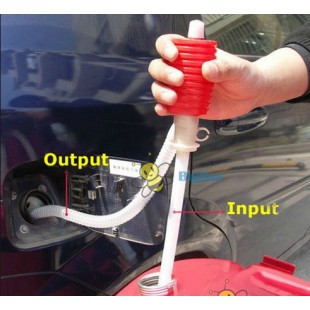 Ручной сифонный насос для перекачивания любой жидкости
