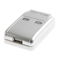 Переключатель USB портов (1 принтер на 2 компьютера) USB switcher