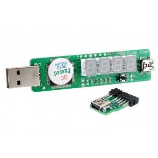 Диагностическая USB  пост карта для ноутбуков 042X