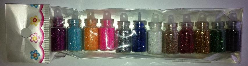 Купить Блеск порошковый для Nail Art 12 color gadgetpostal.ru