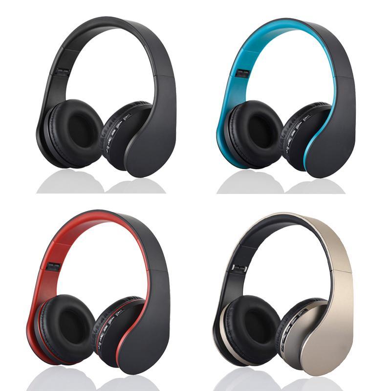 Цифровой 4 в 1 Многофункциональный LH-811 Stereo Bluetooth 3.0 + EDR Наушники Беспроводная гарнитура Музыка наушники с микрофоном