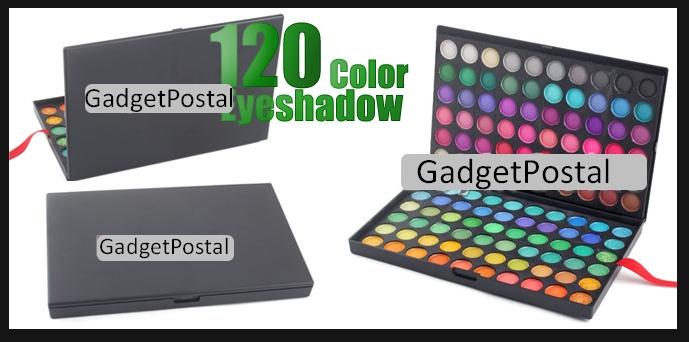 Набор теней из 120 цветов - купить в интернет магазине по почте