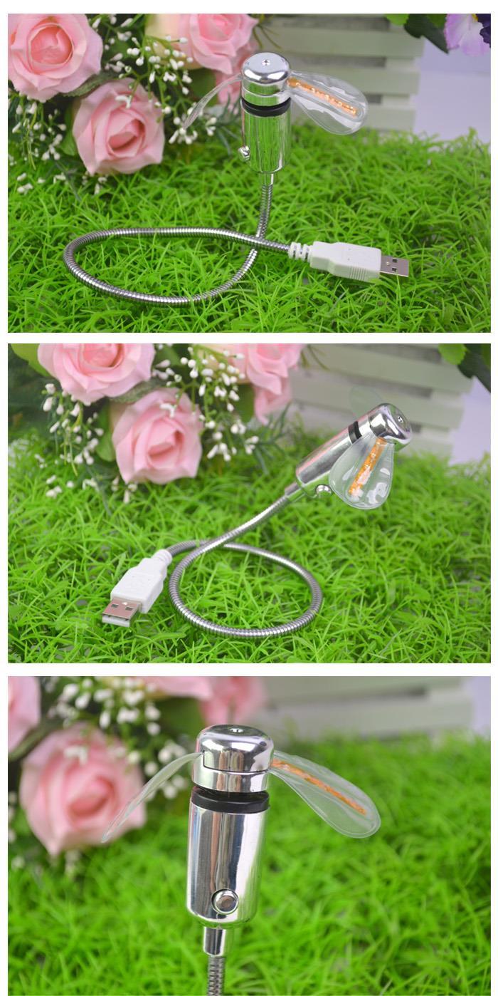 USB-вентилятор со светодиодной подсветкой купить в интернет магазине