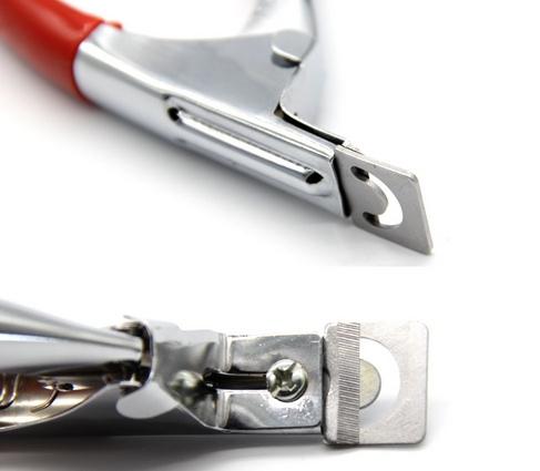 Специальные ножницы для накладных ногтей