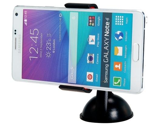 Универсальный держатель смартфона на присоске