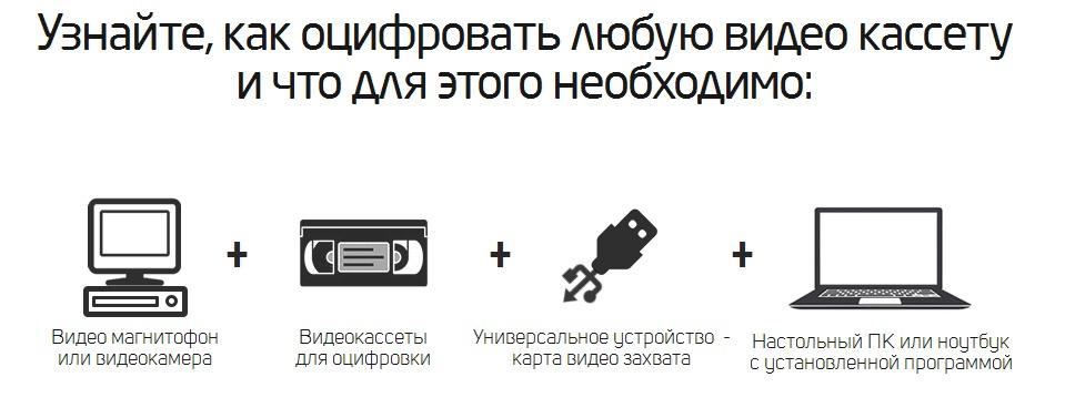 как оцифровать любую видео кассету