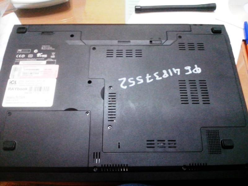 разборка b xbcnrf ноутбука RAYbook Si152a