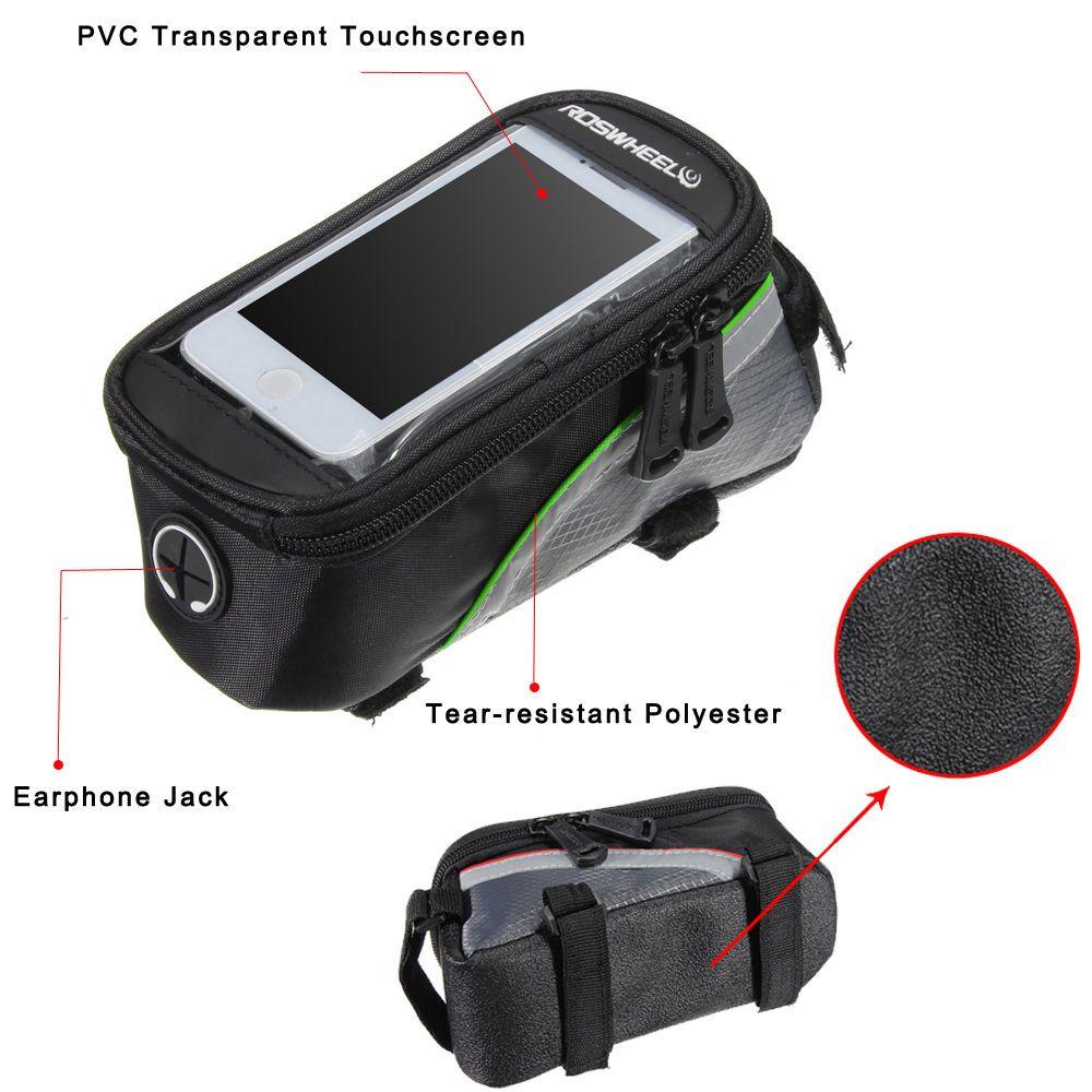 Недорогая сумка для велосипеда с чехлом для телефона - Купить по почте