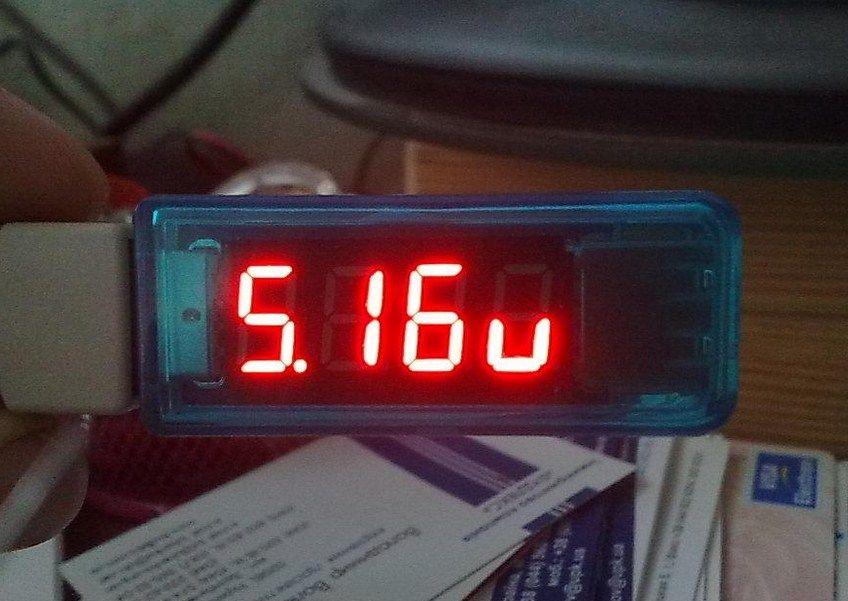 USB вольтметр